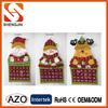 2014 calendar santa clause shinning fabric Christmas calendar
