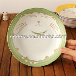 porcelain fruit plate,decorative plates fruit,fruit decorative plate wholesale