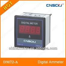 Single phase digital amp meter digital current meter ampere meter AC ammeter DM72-A