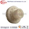 Custom precision white plastic gear for all kinds of plastics
