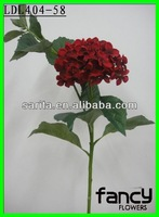 Single stem 2 heads wholesale artificial hydrangea flowers