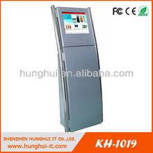 Floor Standing LCD Kiosk for bank information checking / Kiosk LCD touch screen information internet kiosk