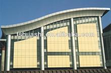 ACP manufactory mirror series best price /insulated aluminum plastic panel construction materials