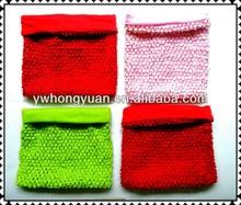 10 inch lined Crochet Tube Top baby tutu top wide crochet tops 8x10inch