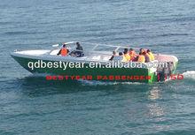 FRP bestyear high speed passenger boat 1150bowride boat