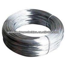 Electro/fil chaud plongé galvanisé fil de fer galvanisé placage factory\zinc( iso9001:2008 usine professionnelle)