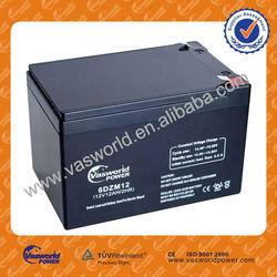 12v solar car battery charger 12ah for solar battery