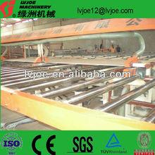 qualified gypsum board production line/plaster board machine/drywall making equipment