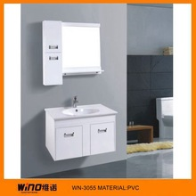 New arrival practical washing basin cupboard wooden cabinets WINO