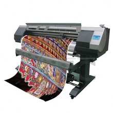 Specialized textile ink used, white and black color printing, multicolor print digital fabric printer