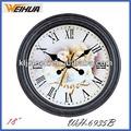 18 polegadas antigo relógio de parede para a decoração home