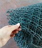 manufacture powder coated chain link fence mesh for construction