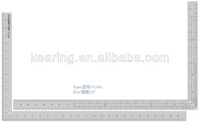 KEARING BRAND, PRECISION SCALE CALIBRATED RULER, TRIANGULAR METAL CALIBRATED RULER, 12''&24'' LENGTH FOR SEWING #5124A