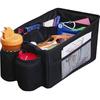 high quality large capacity car grocery bag car organizers