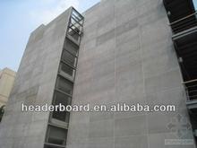 siding wall board, wall cladding fiber cement fiber fireproof cheap lightweight building material