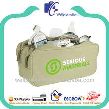 Wellpromotion branded design 1680D nylon toilet bag for Man