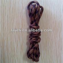 Waterproof shoelaces custom shoelace charm rope laces