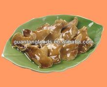 Fresh canned abalone mushrooms in brine
