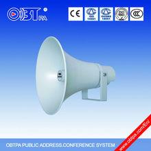 stadium horn speaker Aluminum PA speaker horn loud speaker 50W