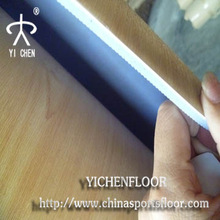 Low cost wood look pvc floor, vinyl plastic floor for gym,sport court from china