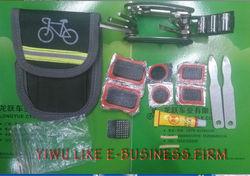 New bicycle repair tool kit, tire repair tool