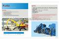 Transformateur machine de recyclage des déchets, moteur de voiture broyeur de recyclage machine, machine transformation de l'aluminium
