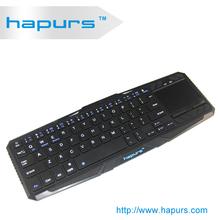 Hapurs Ultra Mini Bluetooth 3.0 Wireless, Original Laptop Keyboard for smartphone,wireless tablet pc keybord