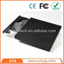 ECD011DW China Wholesale Laptop Portable USB2.0 External Optical Drive.External CD ROM / DVD ROM / DVD-RW Writer