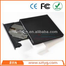 ECD011DW Brand New Laptop Portable USB2.0 External Optical Drive.External CD ROM / DVD ROM / DVD-RW Writer