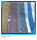 crystal hot fix rhinestone mesh roll