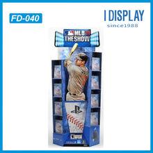 custom made golf ball cardboard merchandising display stand&rack