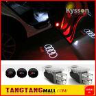 led car door logo laser projector light led car lighting for audi A1 A3 A4 A5 A6 A8 Q3 Q5 Q7 R8 TT