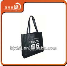 custom newest fashion printed laminated non woven carry bags