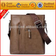 exotic skin leather sling bags mobile phone shoulder bag for men