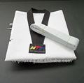 Verano uniforme de taekwondo para los niños / uniformes de artes marciales