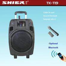 TK-T19 portable bluetooth speaker can play jazz rock music