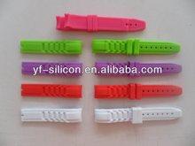 silicone rubber wrist watch strap/Wristbands