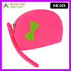 Silicone Zipper Purse Coin Wallet Waterproof Hand Bag