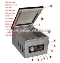 DZ260 vacuum sealer for digital controller