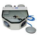 caliente la venta de herramientas y equipos sandblaster manual de la máquina de chorro de arena dental