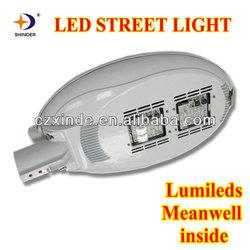 lumileds led chips & Meanwell led driver 70w led street light luminaire