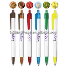 Good Scents Click Pen/Promotional Plastic Ball Pen/Plastic Lipstick Ball Pen/Crown Ball Pen