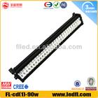 led car roof rack light bar high power led car light 90w auto lighting system
