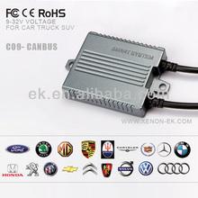 K9 smart canbus car HID light kit passed all cars, h1, h3, h4, h7, 5202, h16, h13, h15, h15-2