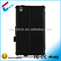 leather case for samsung galaxy tab gt-p1000/leather case