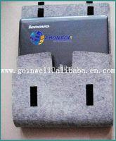 wool felt laptop bag , laptop bag for ipad mini