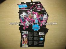 OEM butterfly 2014 Fashion cartoon plastic bag free shape packaging bag sachet