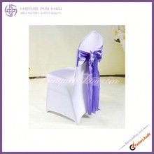 Satin Chair Cover Sash for Wedding