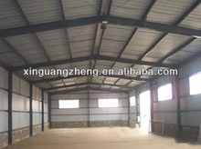 cost of construction steel structure for warehouse