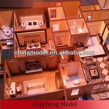 Interior House layout & residential miniature model maker/custom architectural design scale model maker
